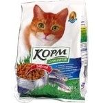 Food Povna chasha of fish dry for cats 400g