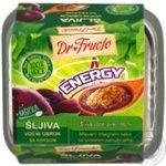 Puree Dr.fructo plum with cookies for children 120g