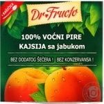 Puree Dr.fructo apricot for children 100g