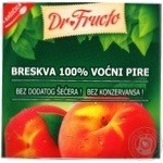 Puree Dr.fructo peach for children 100g