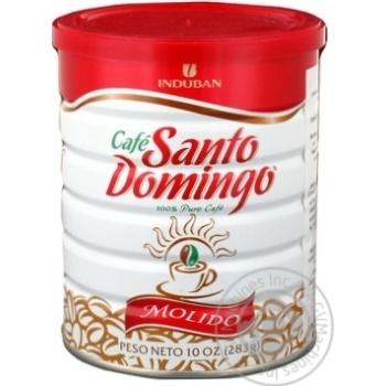 Кава мелена Санто Доминго молідо з/б 283г
