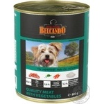 Food Belcando with vegetables canned for dogs 800g