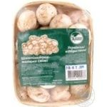 Mushrooms cup mushrooms Zelena kraina fresh 400g Ukraine