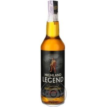 Виски Highland Legend 0,7л