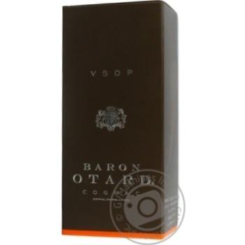 Коньяк Барон Отард VSOP 40% в коробке 500мл - купить, цены на Novus - фото 3