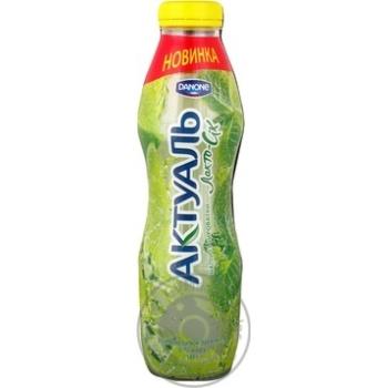 Напій кисломолочний Актуаль лимон охолоджена 0% 580г
