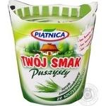 Сыр Piatnica Twoj Smak сливочный с зелен луком64% 150г