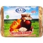Сыр Лад сливочная плавленный 45% 90г