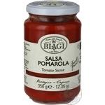 Cоус Biagi томатный organic 350г