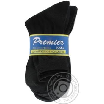 Шкарпетки чоловічі спортивні Premier Socks В8-1 розмір 25 синій