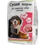 Сухий корм Кожен день для дорослих собак м'ясний 2.5кг