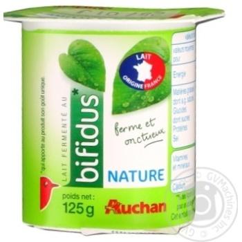 Продукт молочный Ашан Бифидус 125г