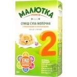 Суміш молочна Малютка Преміум №2 дитяча суха з пребіотиками та нуклеотидами з 6 до 12 місяців 350г
