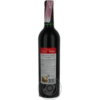 Вино Wild Touch Africa  красное полусладкое 13% 0.75л - купить, цены на Фуршет - фото 2