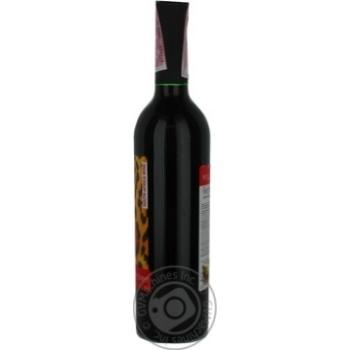Вино Wild Touch Africa  красное полусладкое 13% 0.75л - купить, цены на Фуршет - фото 4