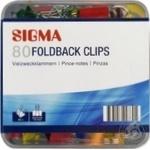 Sigma Binder 80pcs 19mm