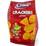 Croco Cracker with Pizza Flavor 100g