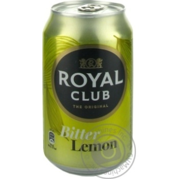 Beverage Royal club strongly carbonated 330ml can