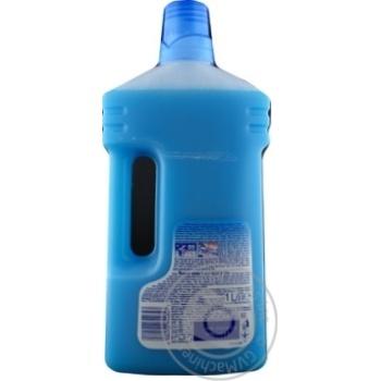 Средство моющее Mr. Proper для уборки пола и стен океан 1л - купить, цены на МегаМаркет - фото 2