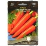 Семена Golden Garden Гигант Морковь Красный гигант 15г