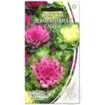 Насіння Квіти Капуста декоративна суміш Семена украины 0,3г