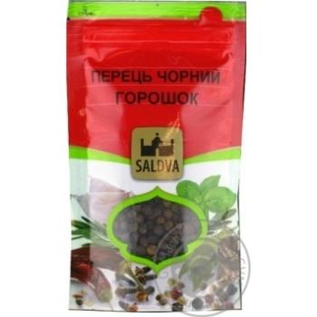 Перец Черный горошек Saldva 25г - купить, цены на Novus - фото 1