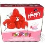 Хустинки паперові унiверсальні двошарові Bella Baby Happy 40+40шт ароматом малини - купить, цены на Novus - фото 2
