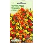 Насіння Елітсортнасіння Квіти Чорнобривці Старшайн суміш 0,1г