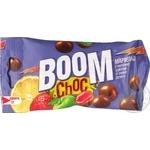 Драже Boom Сhoc мармелад в молочном шоколаде со вкусом фруктов 45г