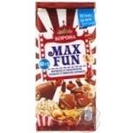 Шоколад молочный Корона Max Fun мармелад со вкусом колы, попкорном и взрывной карамелью 160г