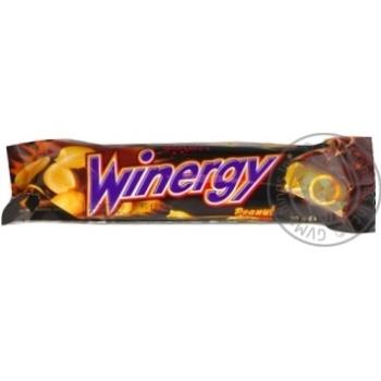 Батончик Winegry в молочному шоколаді з карамеллю нугою арахісом 30г - купити, ціни на Novus - фото 2