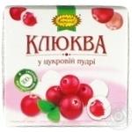 Dragee cranberry Ochen vkusno in powdered sugar 120g - buy, prices for MegaMarket - image 1