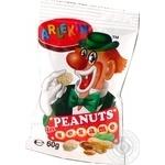 Nuts Arlekin Zolotyy gorishok peanuts 60g - buy, prices for MegaMarket - image 1
