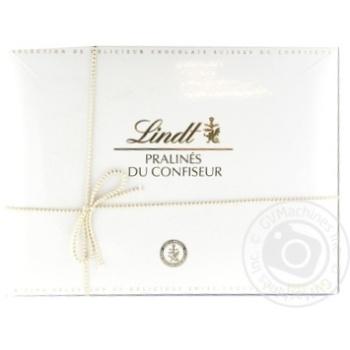 Набор шоколадных конфет Lindt Pralines Du Confiseur Ассорти 250г