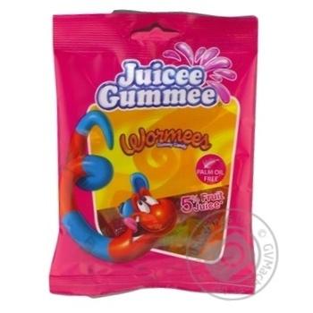Конфеты желейные Juicee Gummee Червячки 80г - купить, цены на Novus - фото 3