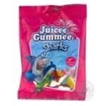 Конфеты желейные Juicee Gummee Sharks с фруктовым соком 80г