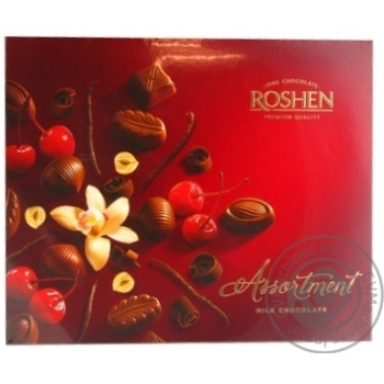 Конфеты шоколадные Roshen Assortment Еlegant 145г