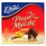 Цукерки шоколадні E.Wedel Пташине молоко з ванільною начинкою 380г