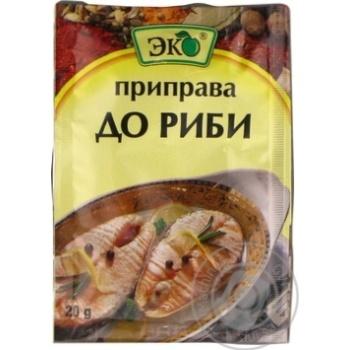 Приправа Эко для рыбы 20г