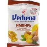 Леденцы Verbena Имбирь с витамином С  60г