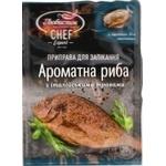 Приправа для запікання ароматна риба Любисток з італійськими травами 20г - купити, ціни на Novus - фото 1