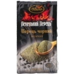 Spices black pepper Lyubystok ground 20g