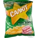 Stick Zolote zerno Salute corn with bacon 45g