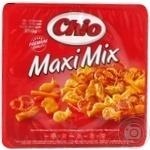 Набор соленого печенья Chio Maxi Mix 250г - купить, цены на Novus - фото 1