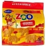 Печенье Лейбниц Зоопарк детское сливочное 100г*12шт