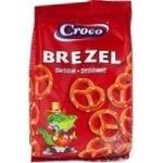 Брецелі солоні з кунжутом Croco 80г