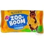 Печиво Roshen Zoo-boom з молоком для дітей 68г
