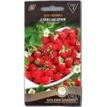 Насіння Суниця Олександрія Golden Garden 0,1г