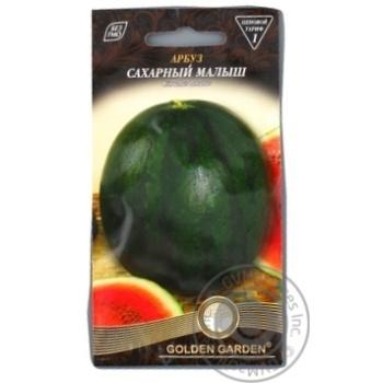 Насіння Кавун Цукровий малюк Golden Garden 1г - купити, ціни на Novus - фото 1