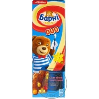 Barni with vanilla and strawberries filling biscuit cake 150g - buy, prices for Novus - image 3